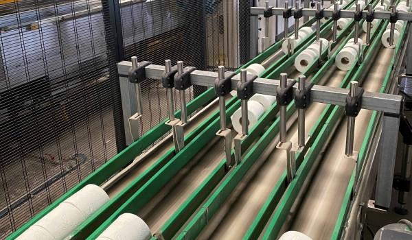 Πλήρως αυτοματοποιημένες και ρομποτικές γραμμές παραγωγής για χαρτικά είδη από τη Softcare